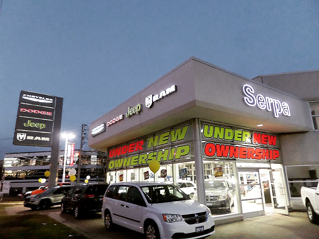 ram dealer serpa dealership chrysler drive jeep toronto days dodge