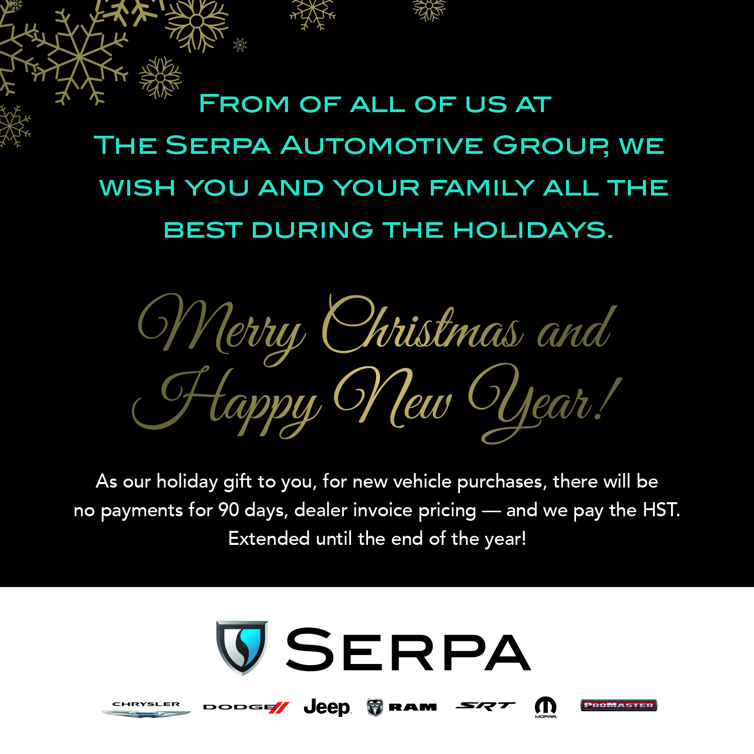 A Special Gift Extended Until Year Endfrom Serpa Chrysler Dodge - Dodge ram dealer invoice price